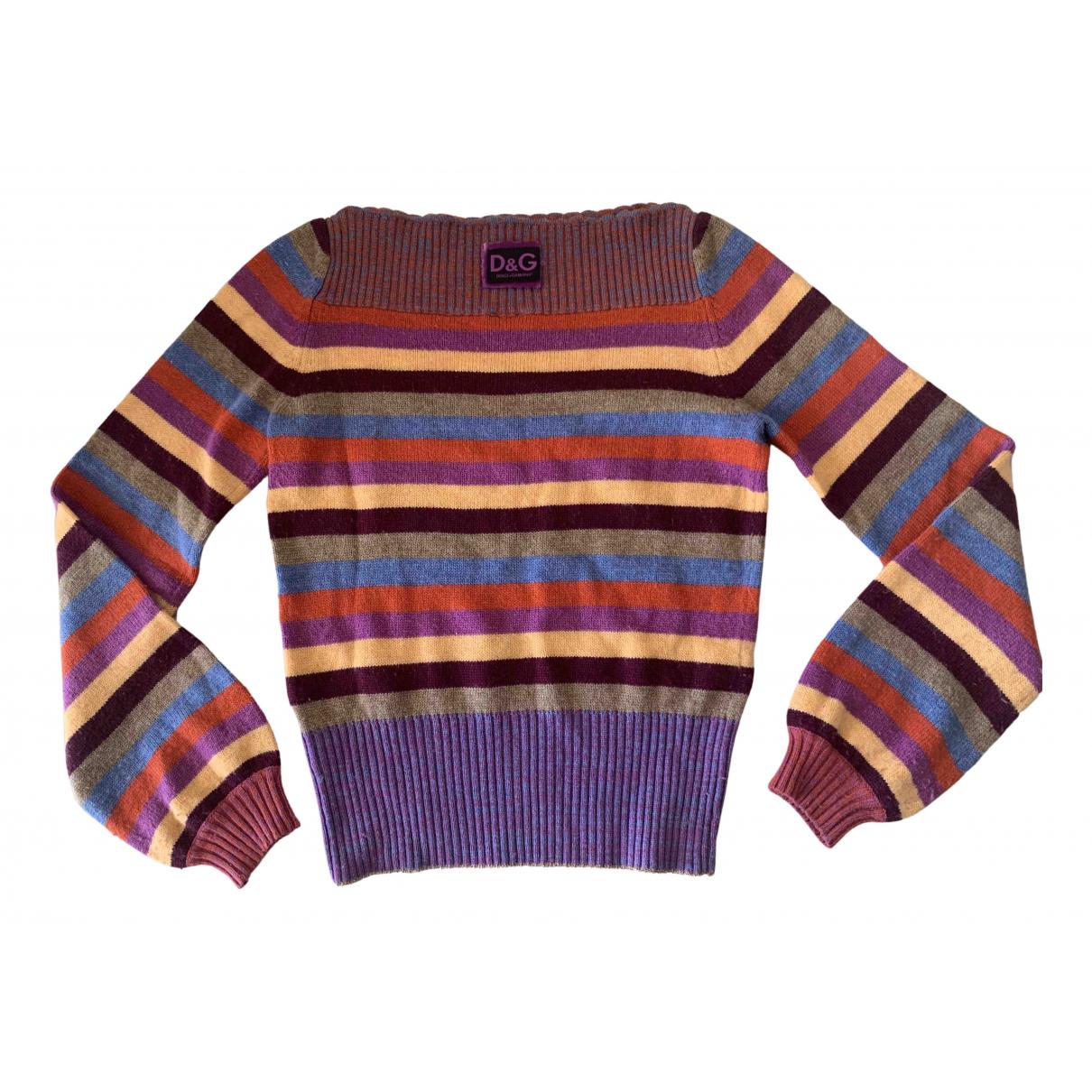 D&g - Pull   pour femme en laine
