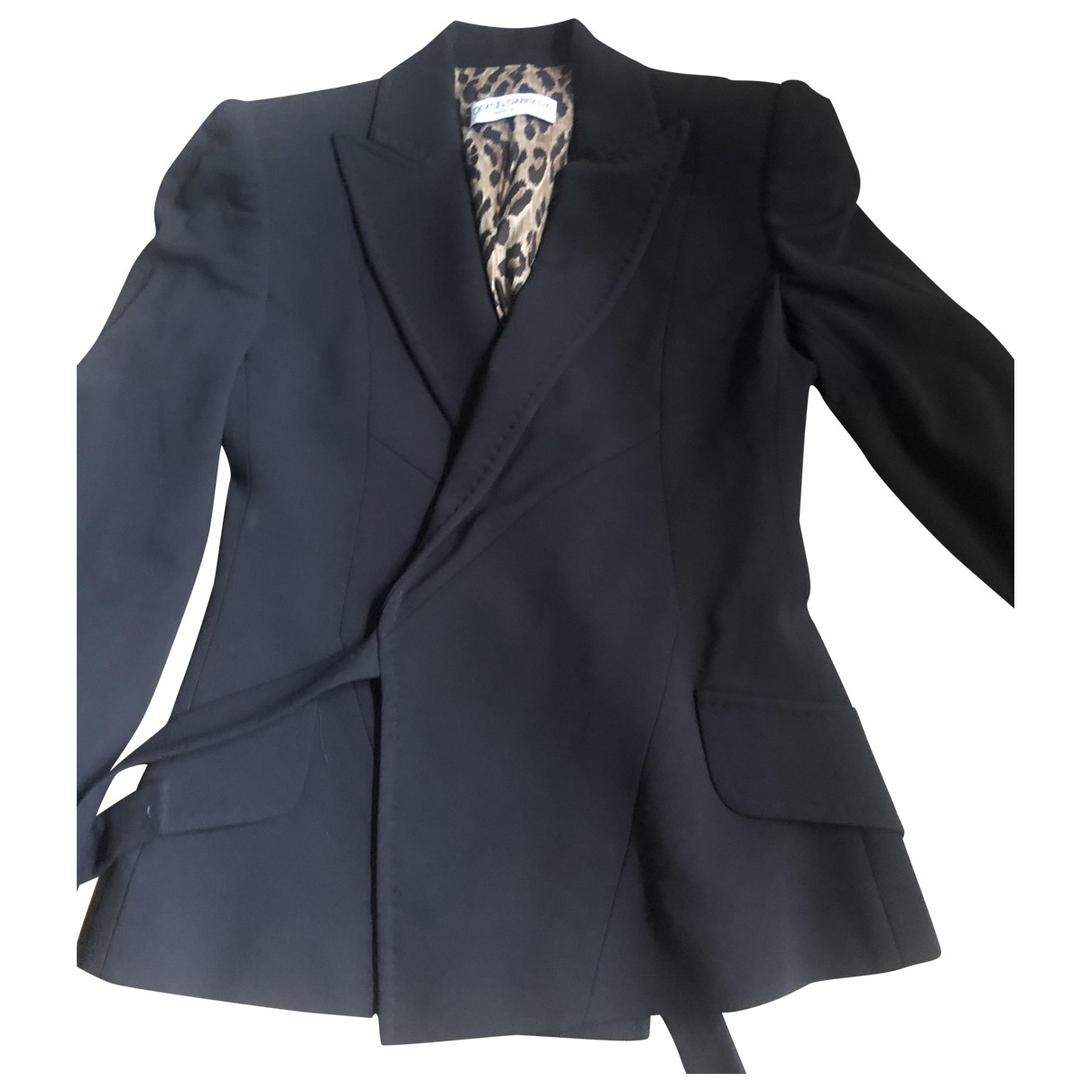 Dolce & Gabbana \N Black jacket for Women 40 IT