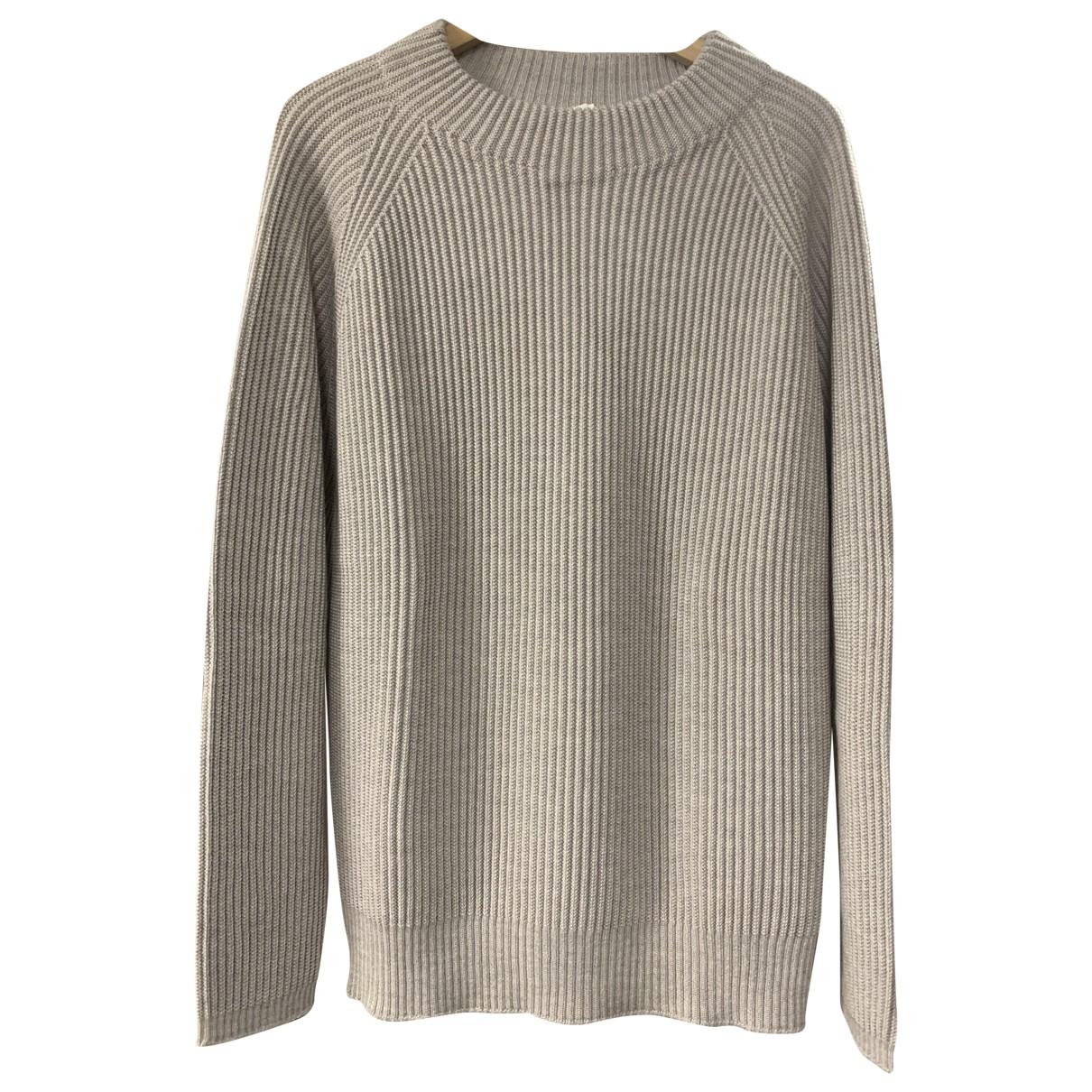 Max Mara \N Grey Wool Knitwear for Women XL International