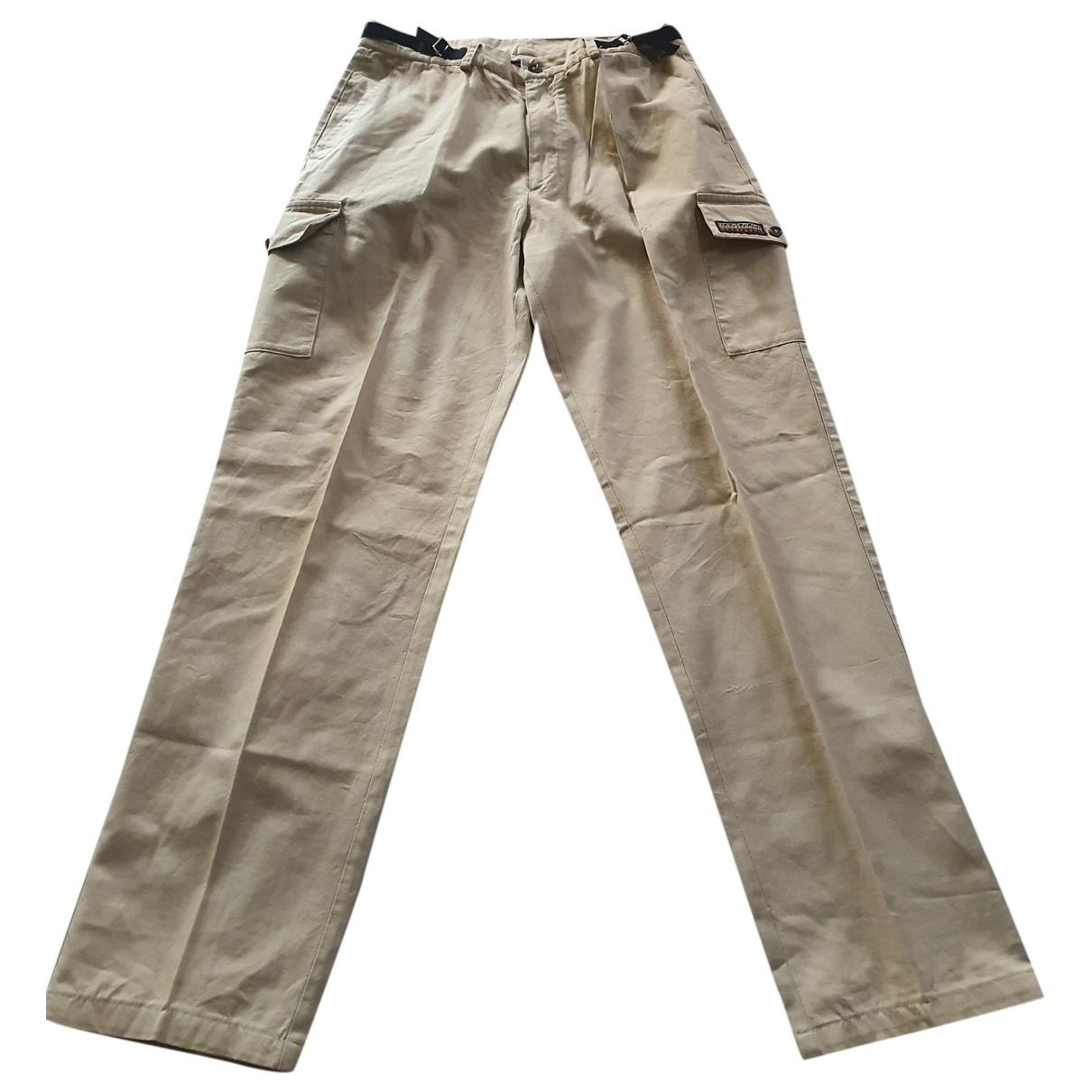Napapijri - Pantalon   pour homme en coton - beige