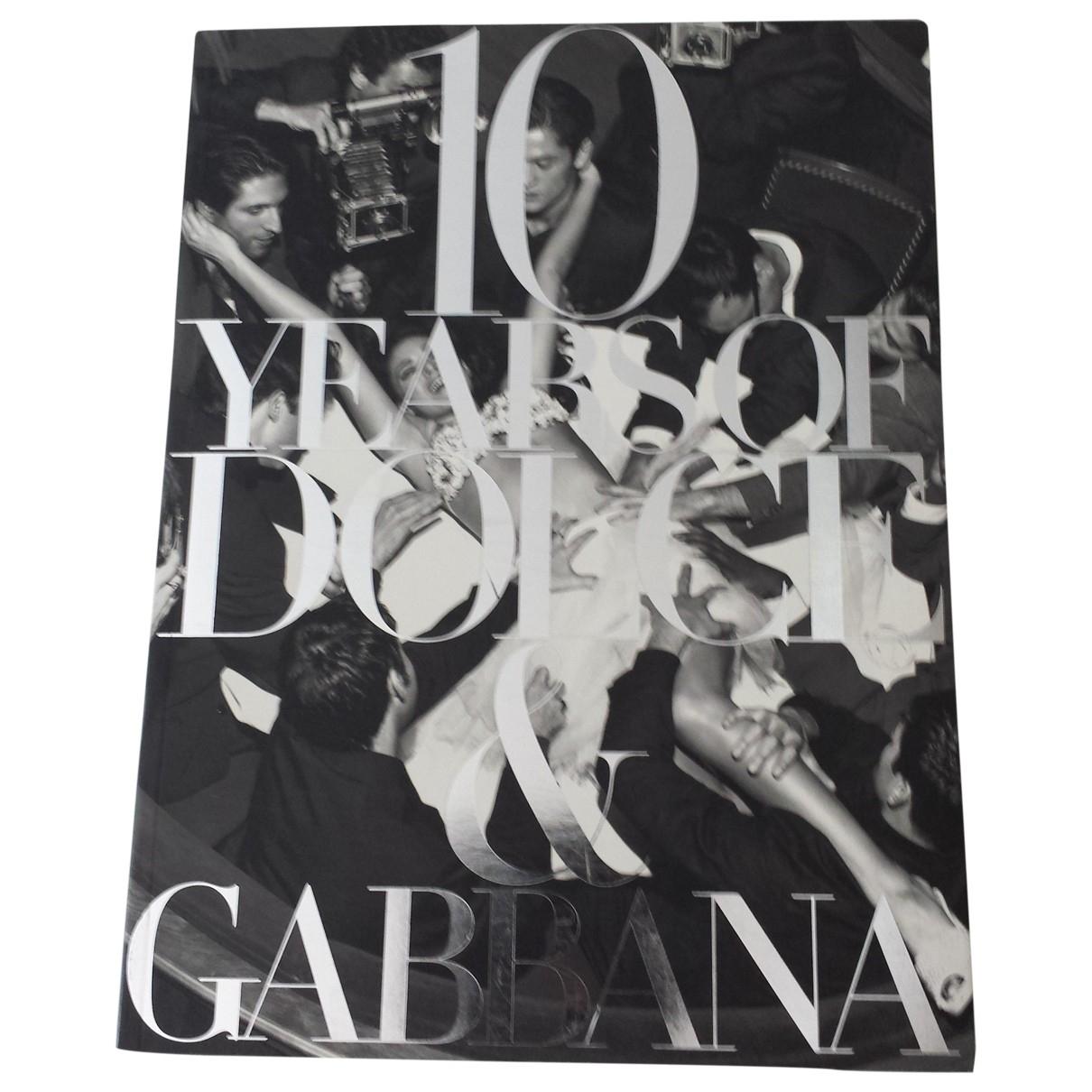 Dolce & Gabbana - Photographie   pour lifestyle en coton - noir