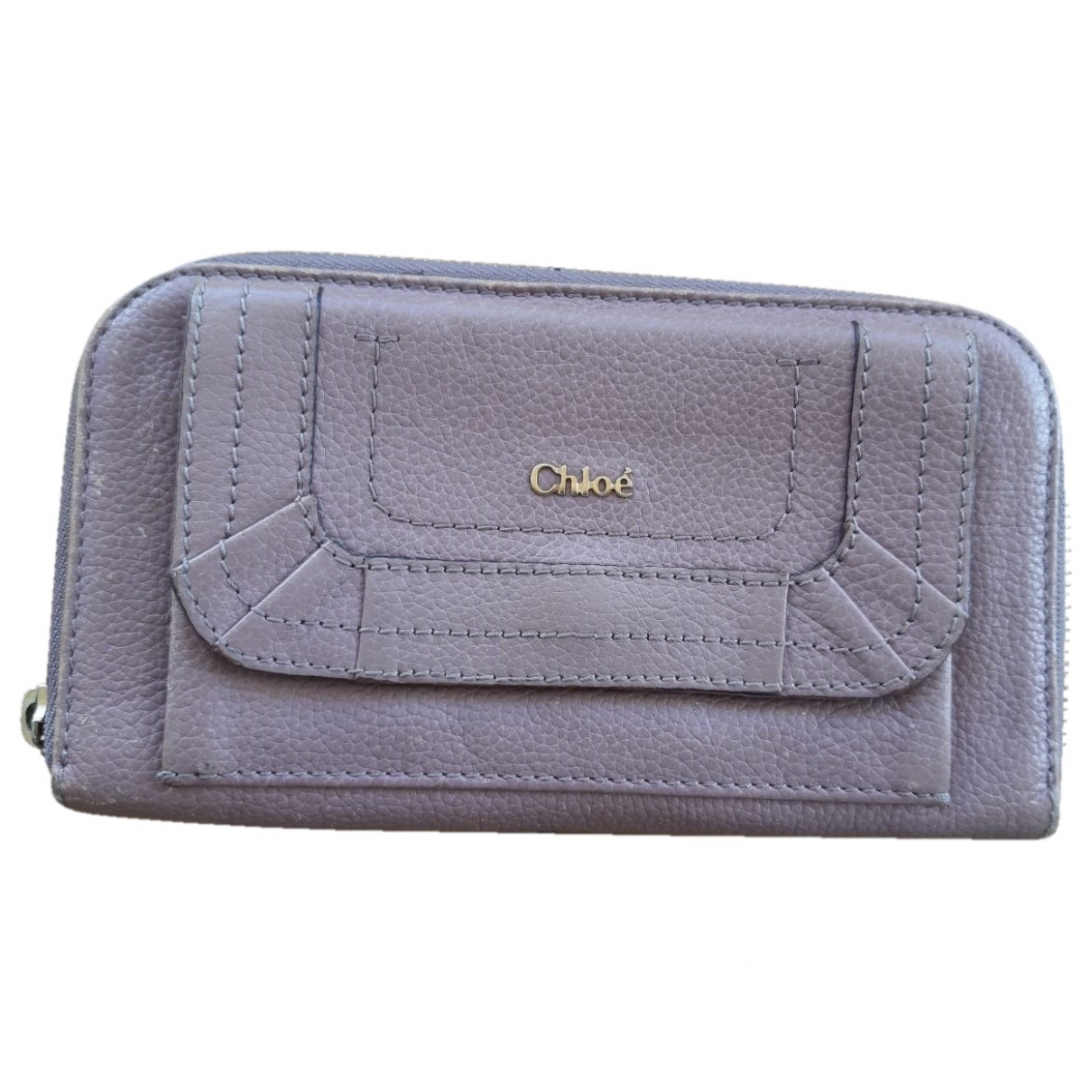 Chloé \N Pink Leather wallet for Women \N