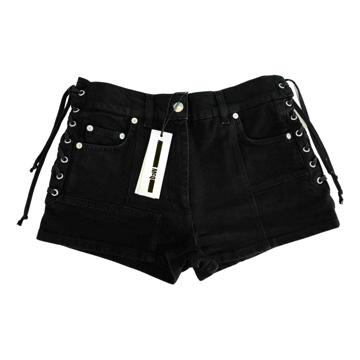 Mcq \N Shorts in  Schwarz Denim - Jeans