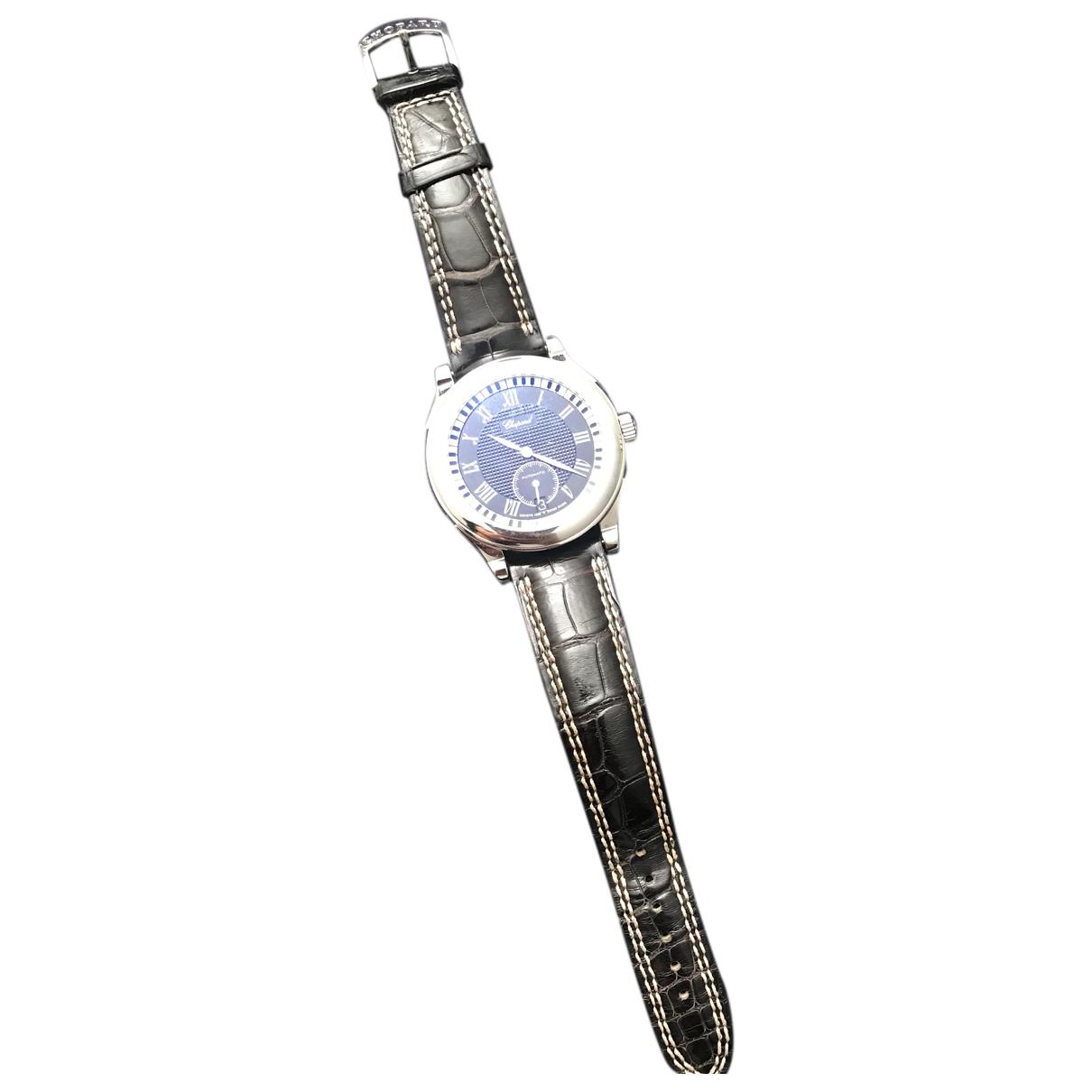 Chopard \N Uhr in  Schwarz Stahl