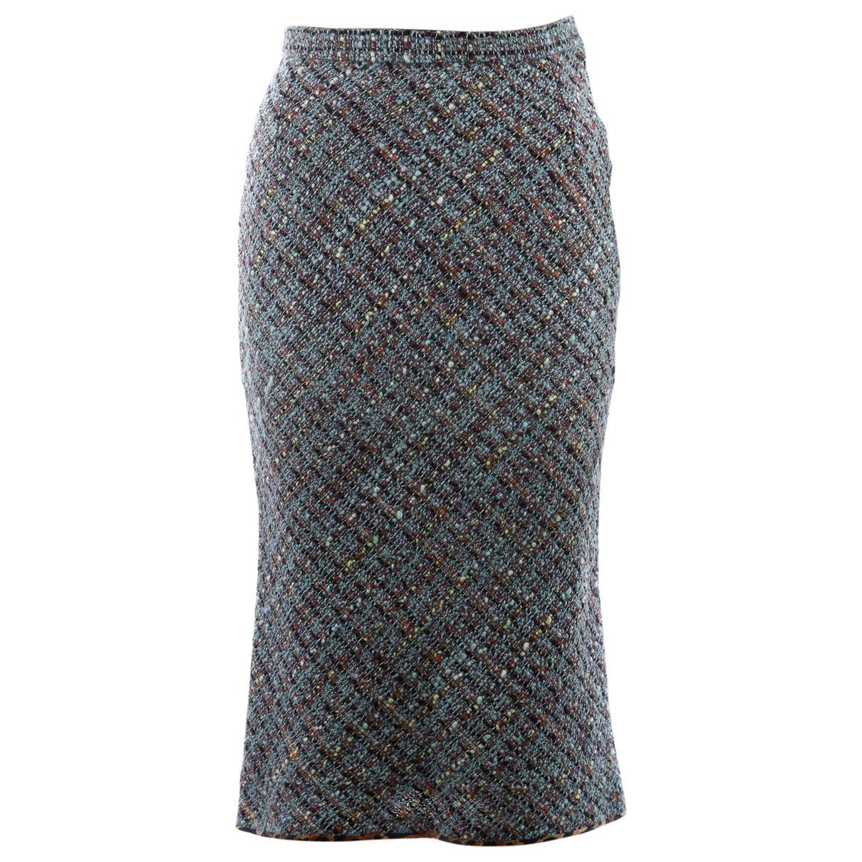Falda midi Tweed Dolce & Gabbana