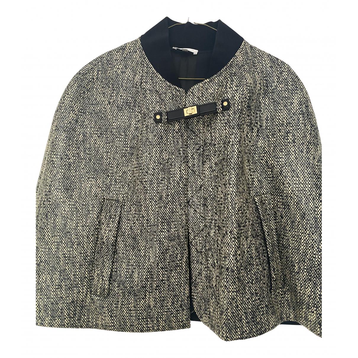 Paule Ka N Black Cotton coat for Women 42 FR