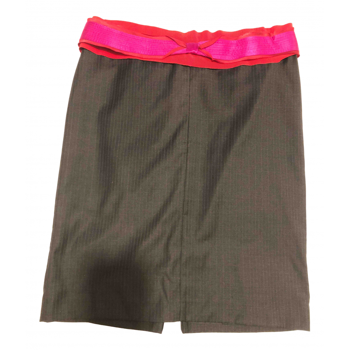 Gianfranco Ferré N Grey Wool skirt for Women 48 IT