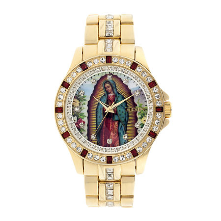 Elgin Mens Our Lady of Guadalupe Watch, One Size , No Color Family