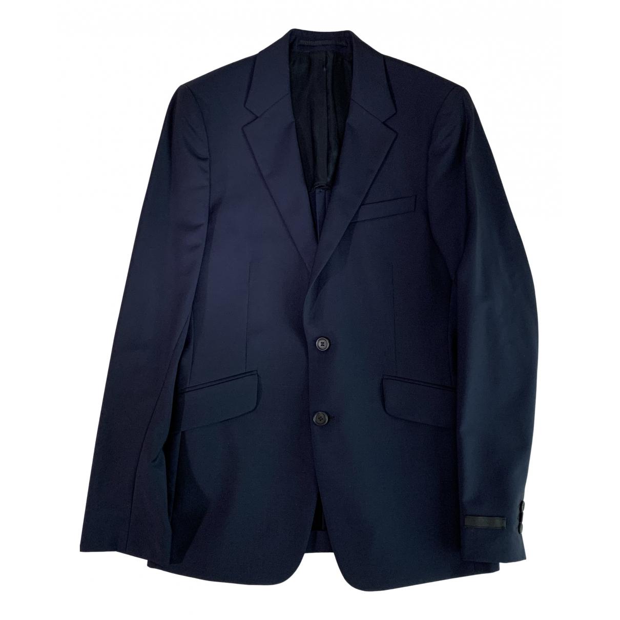 Prada - Vestes.Blousons   pour homme en coton - bleu