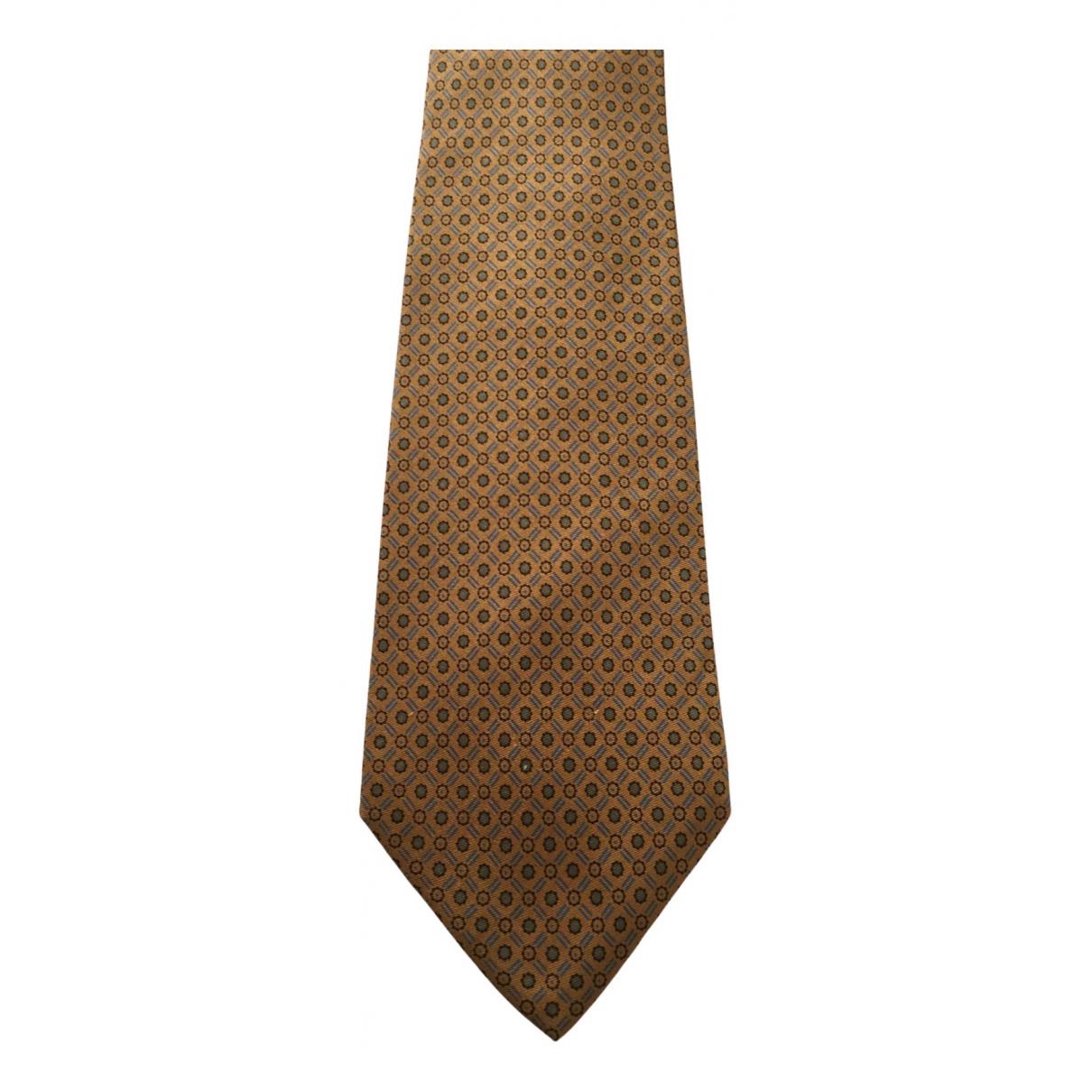 Balenciaga \N Krawatten in  Braun Seide