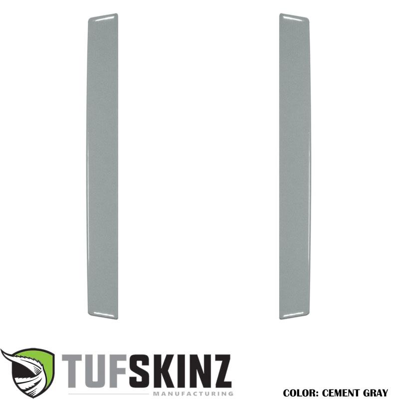 Tufskinz RUN021-GGY-G Rear Door Sills Fits 14-up Toyota 4Runner 2 Piece Kit Cement Gray