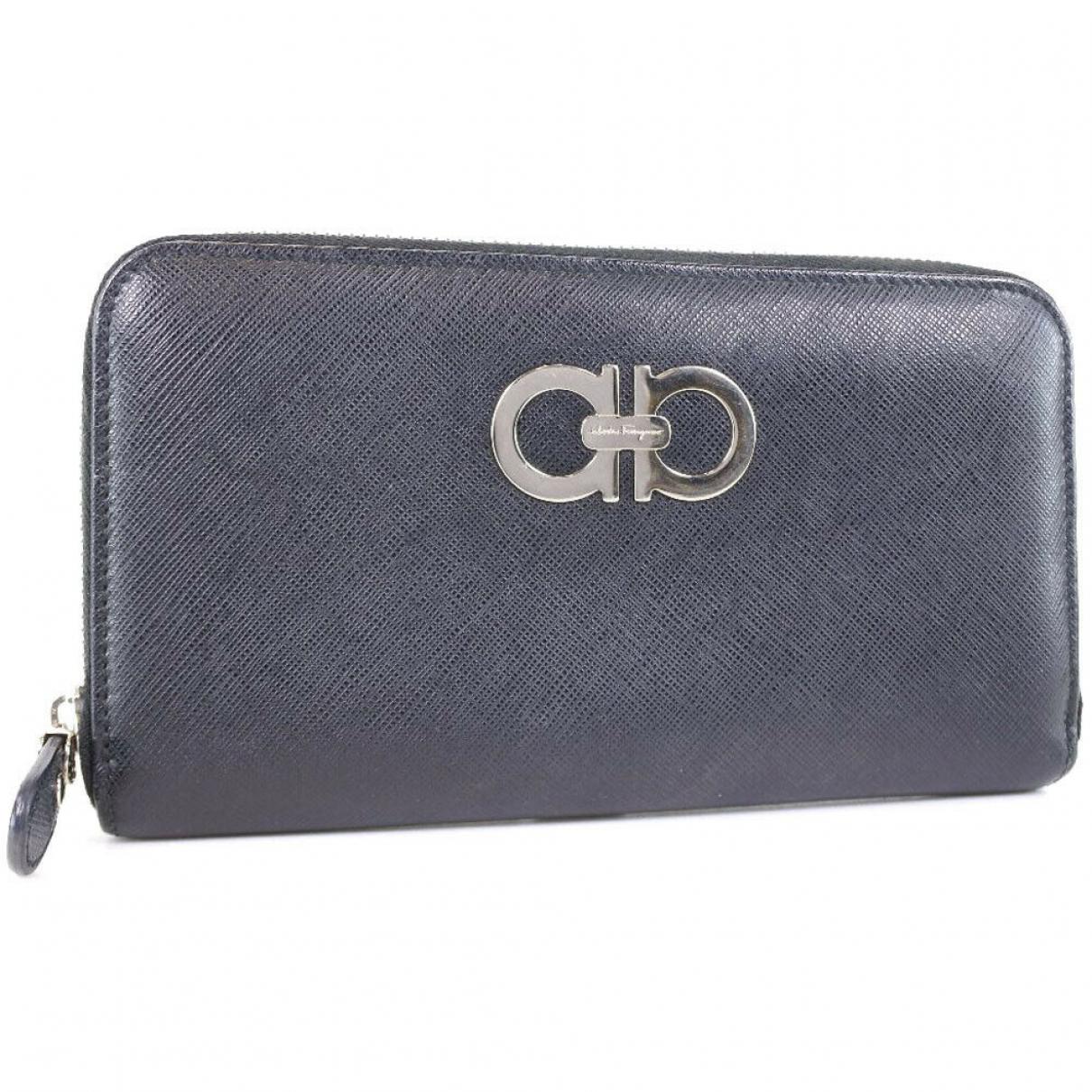 Salvatore Ferragamo \N Black Leather Purses, wallet & cases for Women \N