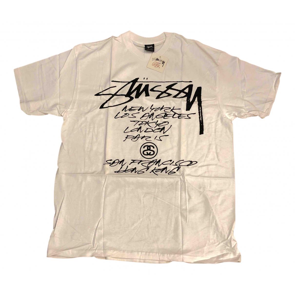 Stussy N White Cotton T-shirts for Men L International