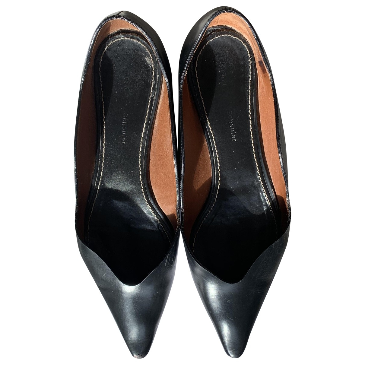 Proenza Schouler - Ballerines   pour femme en cuir - noir