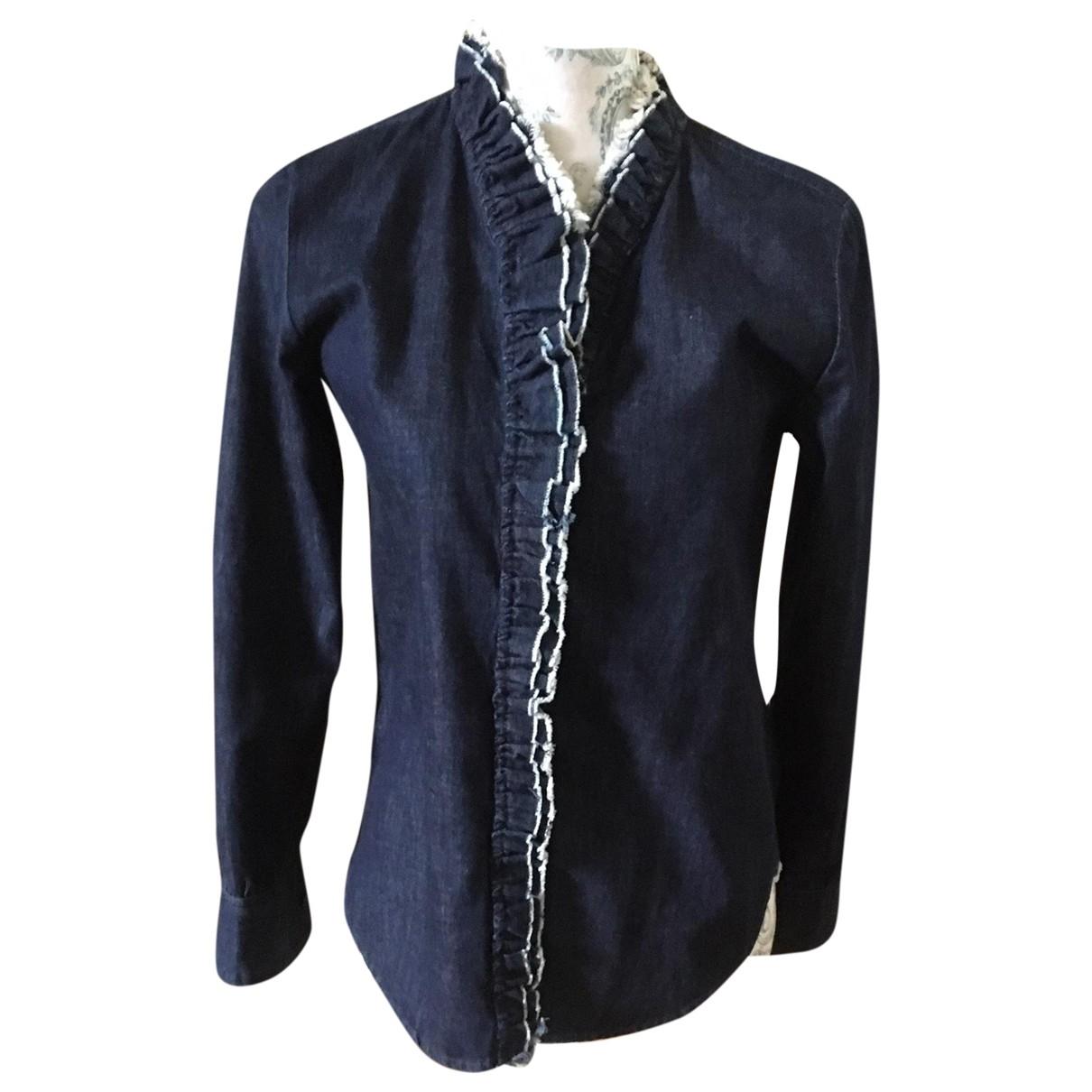 Isabel Marant Etoile \N Blue Cotton  top for Women 36 FR