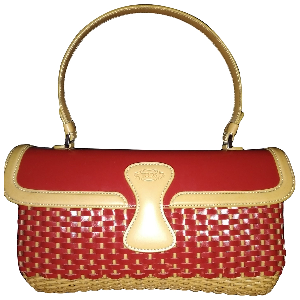 Tod's \N Red Leather handbag for Women \N