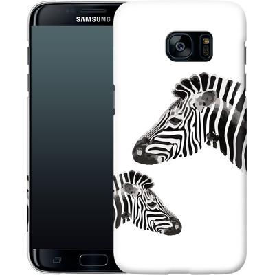 Samsung Galaxy S7 Edge Smartphone Huelle - Zebra Pride von Mukta Lata Barua