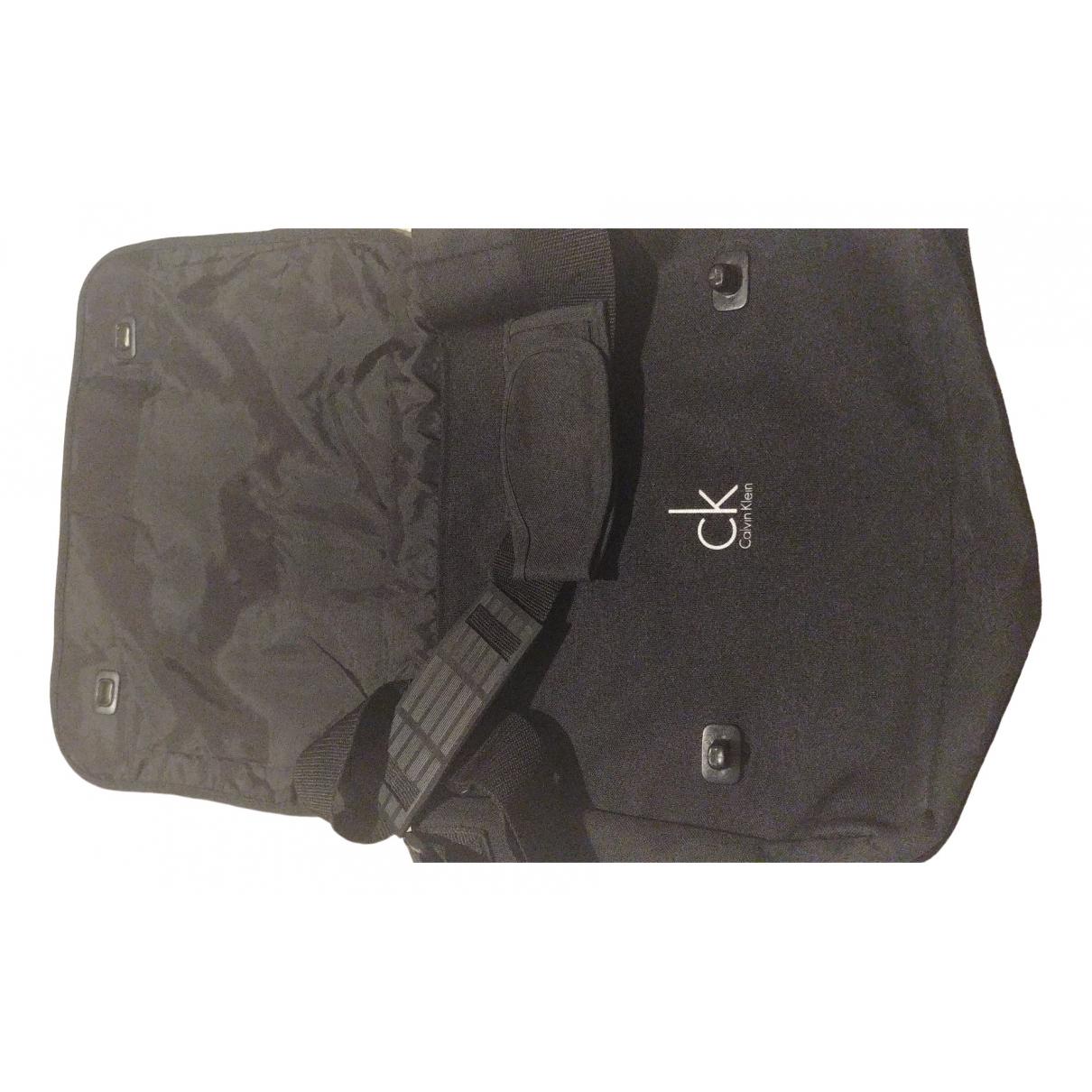 Calvin Klein \N Black bag for Men \N