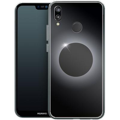 Huawei P20 Lite Silikon Handyhuelle - Eclipse von caseable Designs