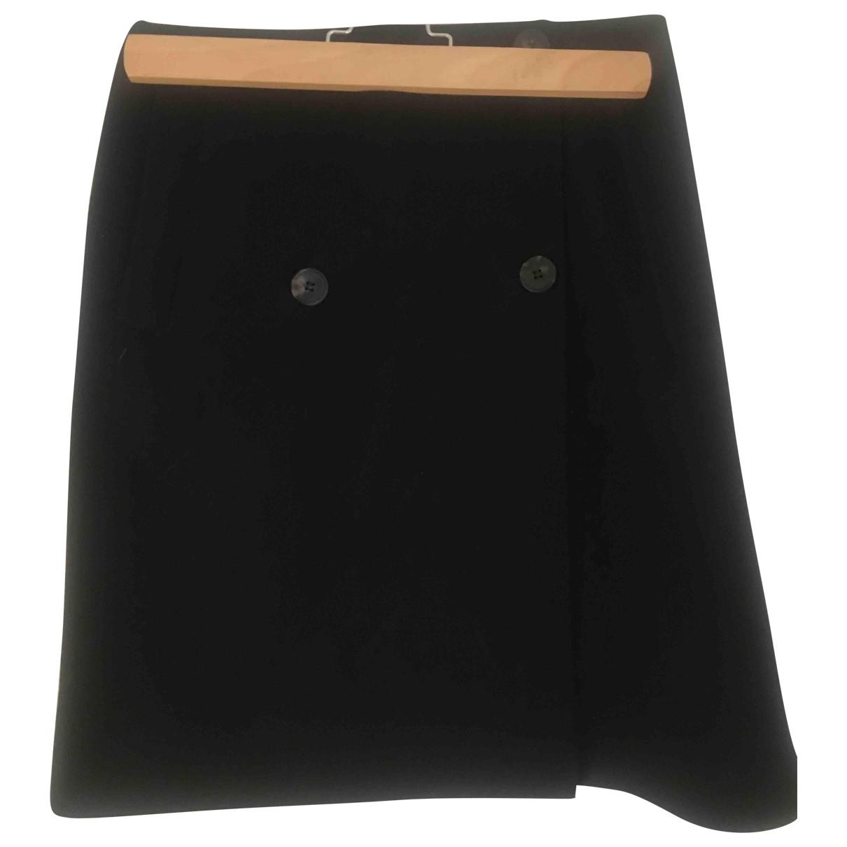 Dries Van Noten \N Black Wool skirt for Women 40 FR