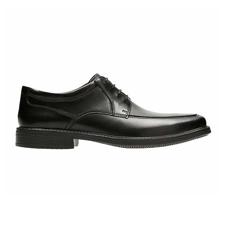 Bostonian Mens Ipswich Apron Oxford Shoes, 13 Wide, Black