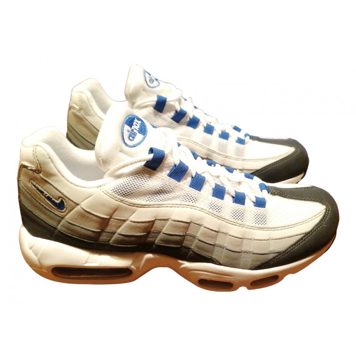 Nike - Baskets Air Max  pour homme en cuir - blanc