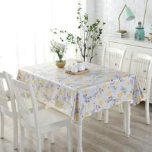 Flower Print Tablecloth