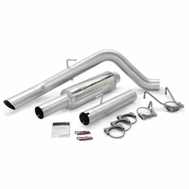 Monster Sport Exhaust System 04-07 Dodge 5.9 325hp SCLB/CCSB or Banks Power 48778