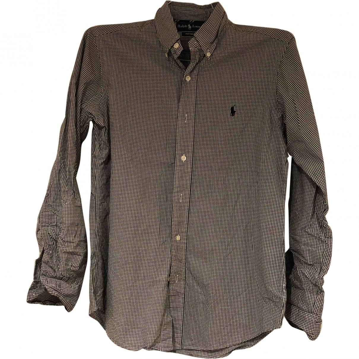 Ralph Lauren \N Hemden in  Schwarz Baumwolle