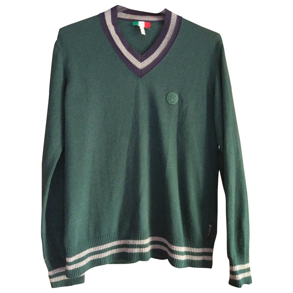 Armani Jeans \N Pullover in  Gruen Wolle