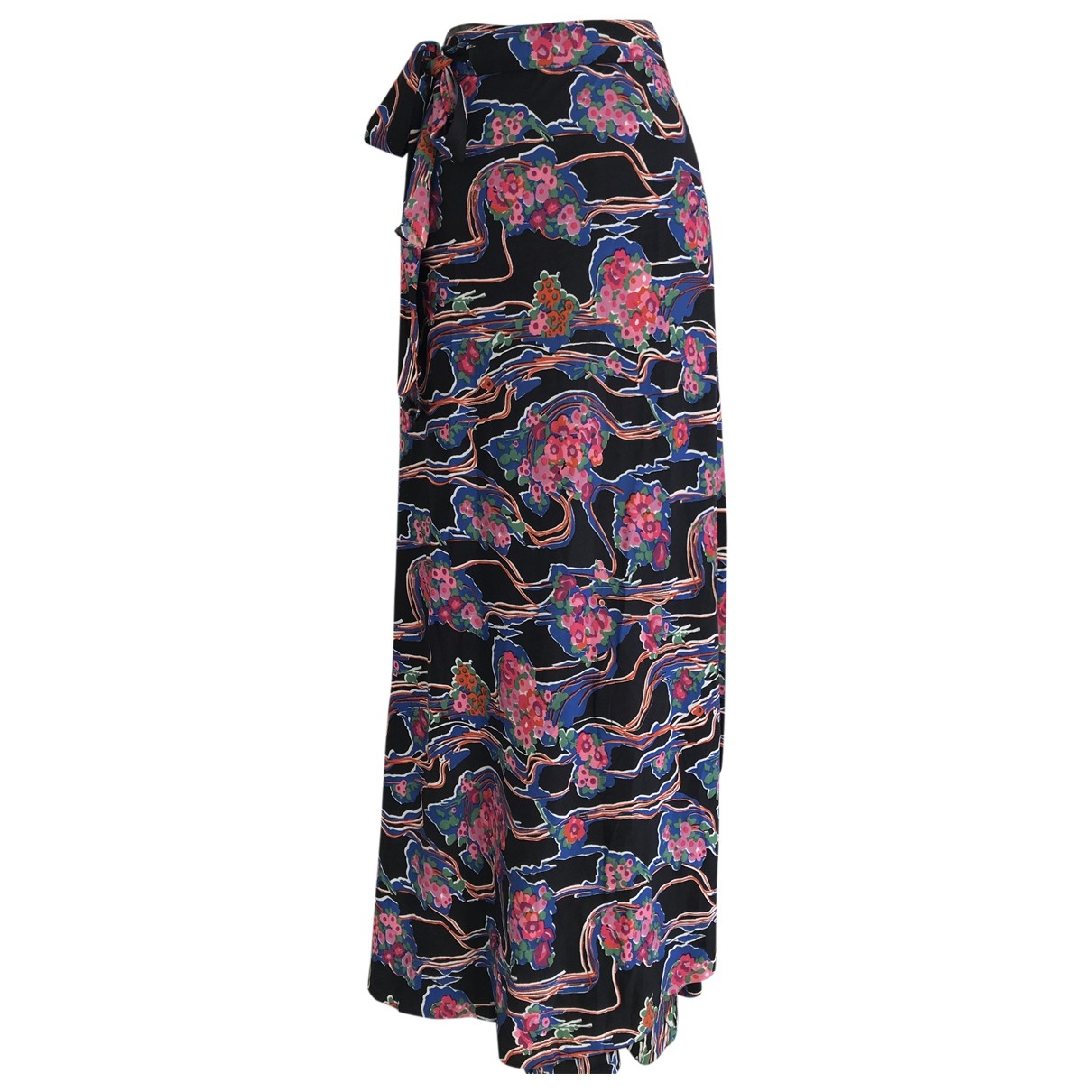 Non Signe / Unsigned Hippie Chic Rocke in  Bunt Polyester
