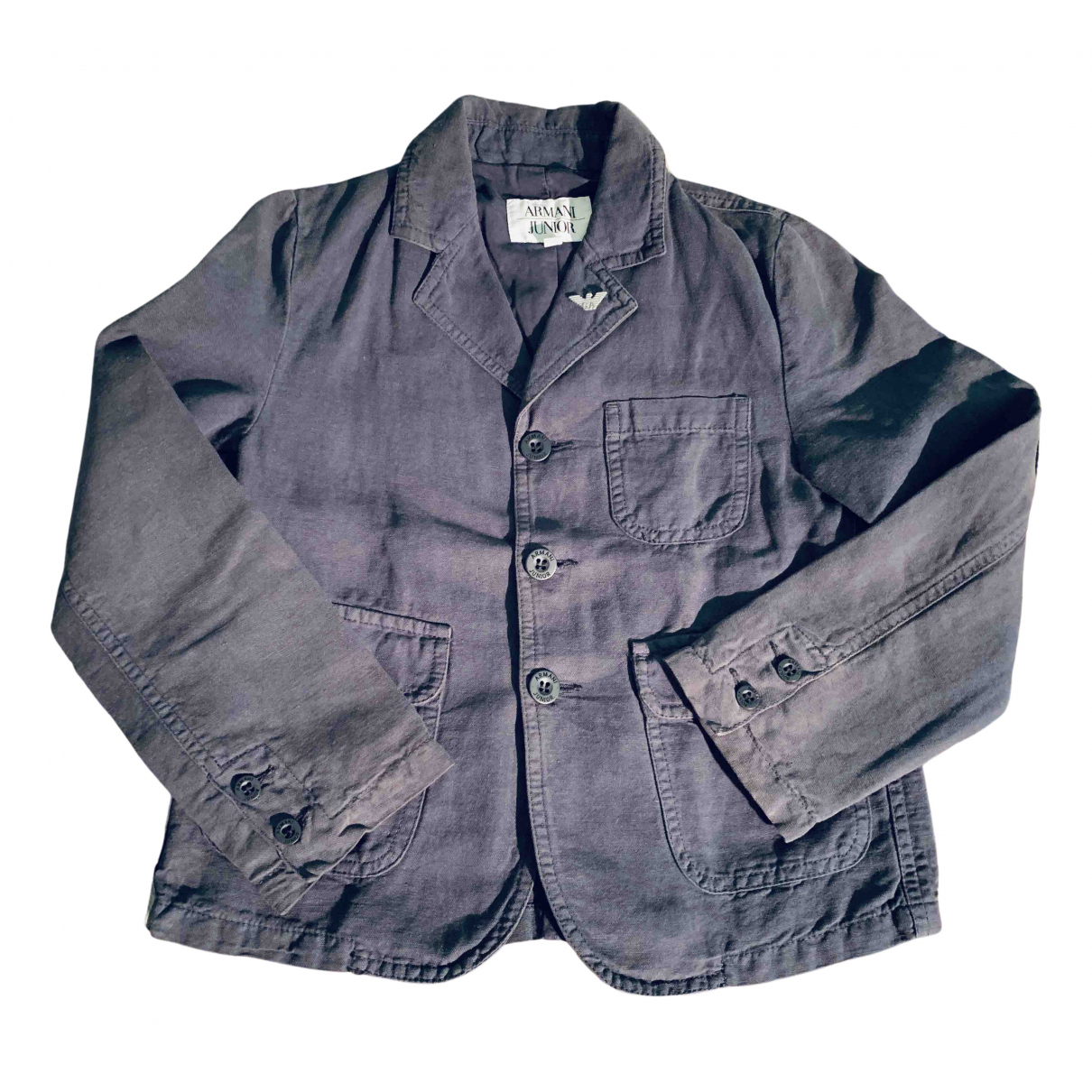 Armani Baby N Blue Linen jacket & coat for Kids 6 years - up to 114cm FR