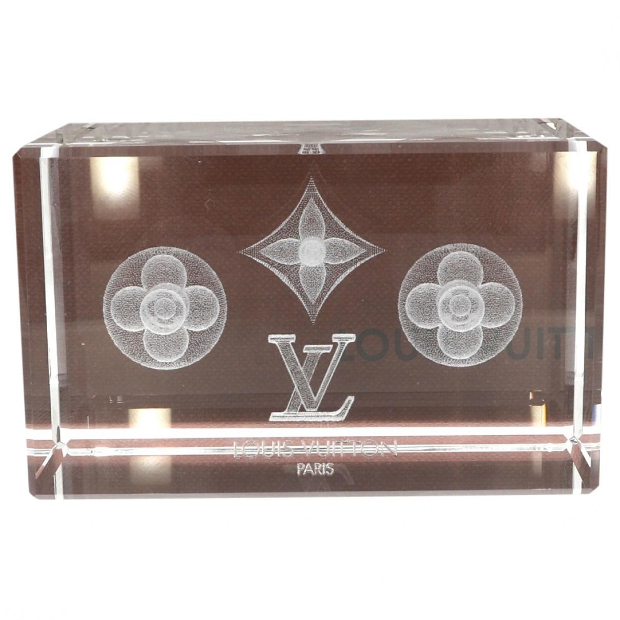 Louis Vuitton \N Accessoires und Dekoration in Glas
