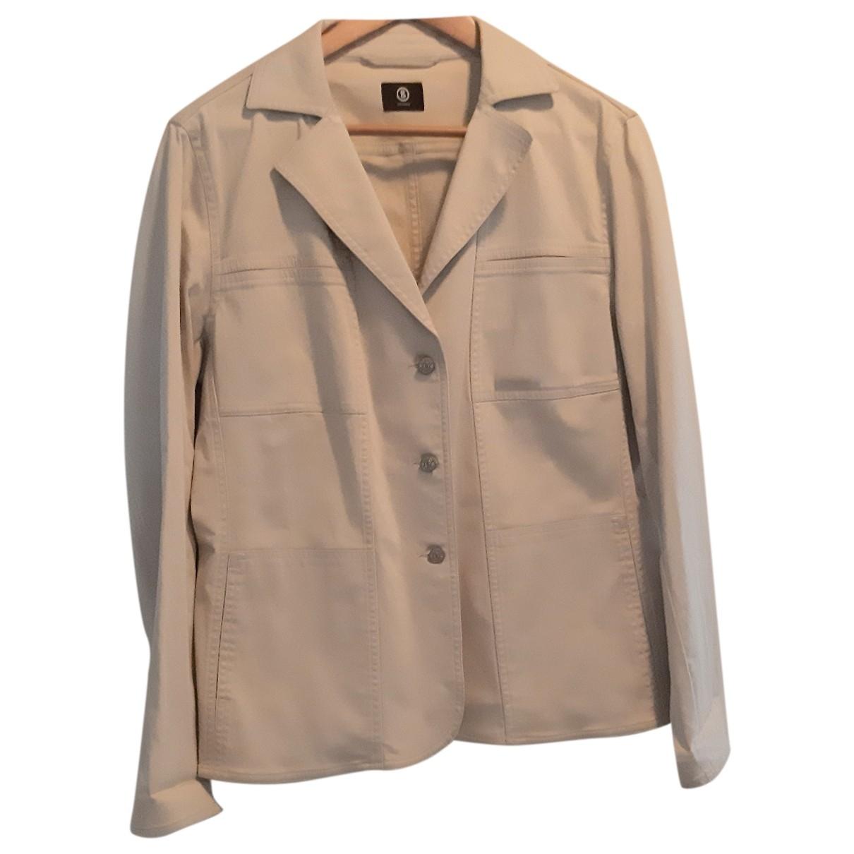 Bogner - Veste   pour femme en coton - beige