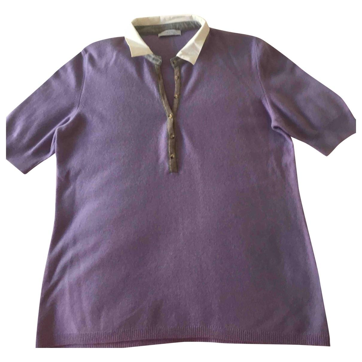 Fabiana Filippi \N Purple Wool Knitwear for Women 44 FR