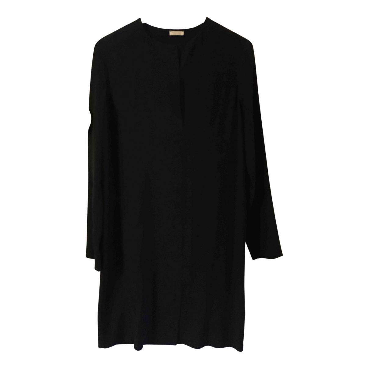Falconeri \N Kleid in  Schwarz Seide