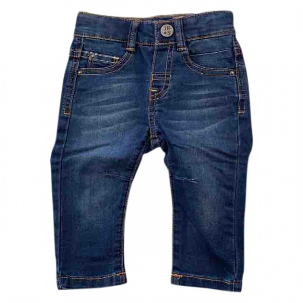 Ikks \N Navy Cotton Trousers for Kids 3 months - up to 60cm FR