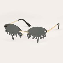 Gafas de sol sin montura con tachuela