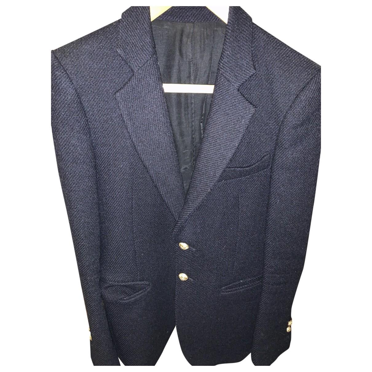 Balmain - Vestes.Blousons   pour homme en laine - bleu