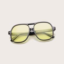 Top Bar Acrylic Sunglasses