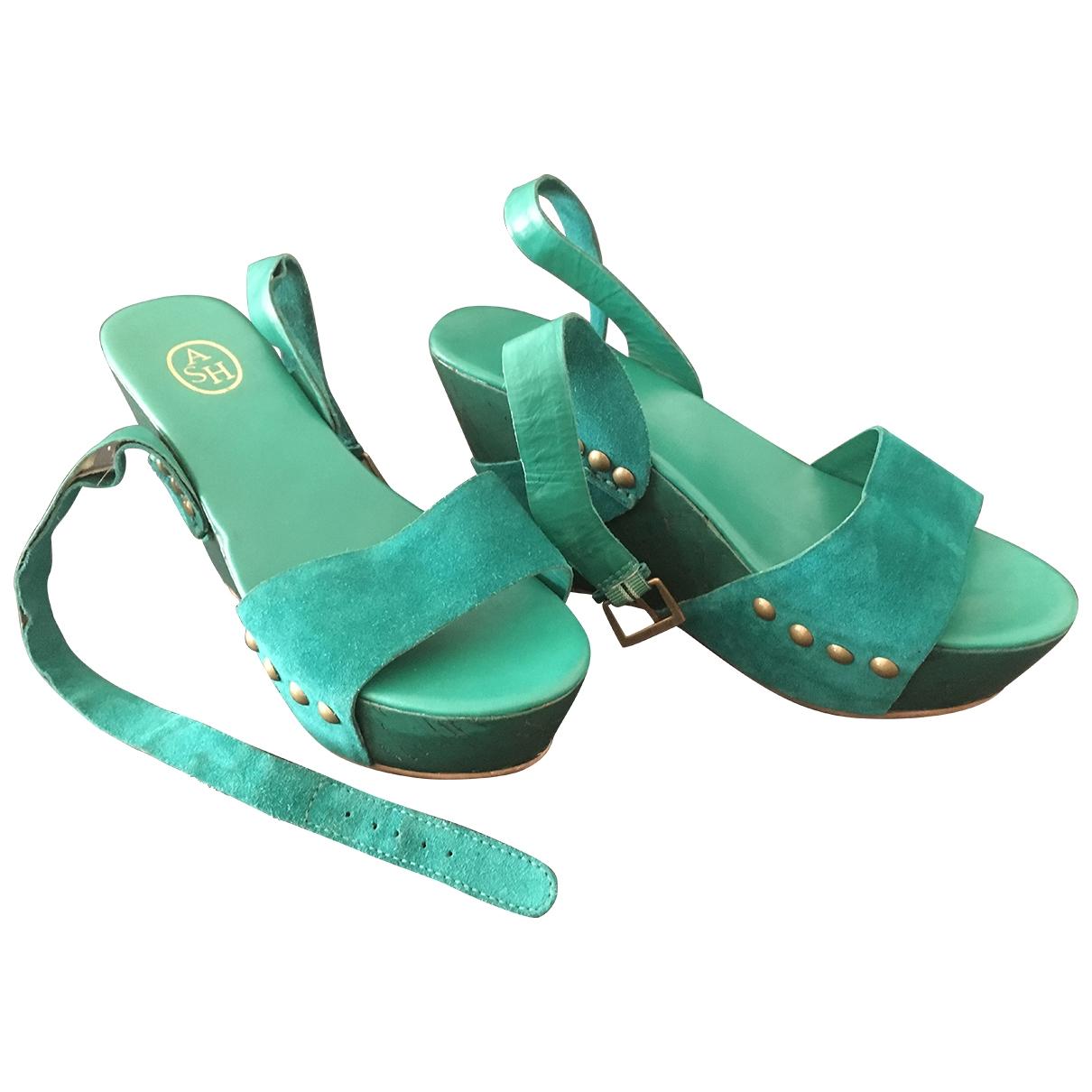 Asos - Sandales   pour femme en cuir - vert