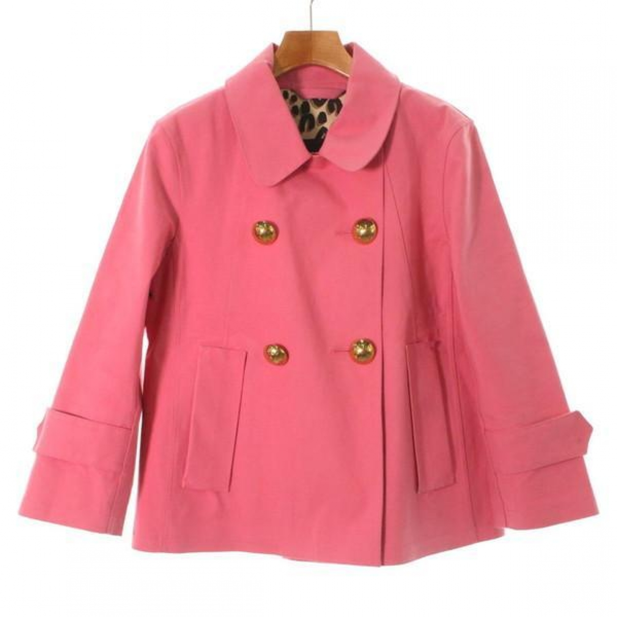 Louis Vuitton \N Jacke in  Rosa Baumwolle