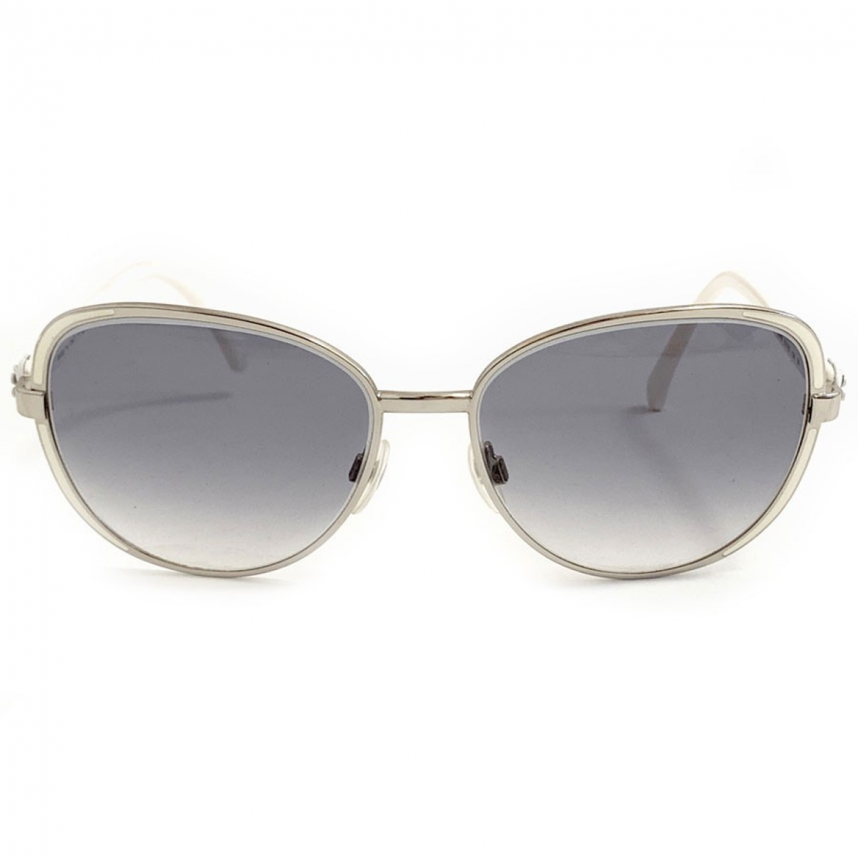 Chanel \N White Metal Sunglasses for Women \N