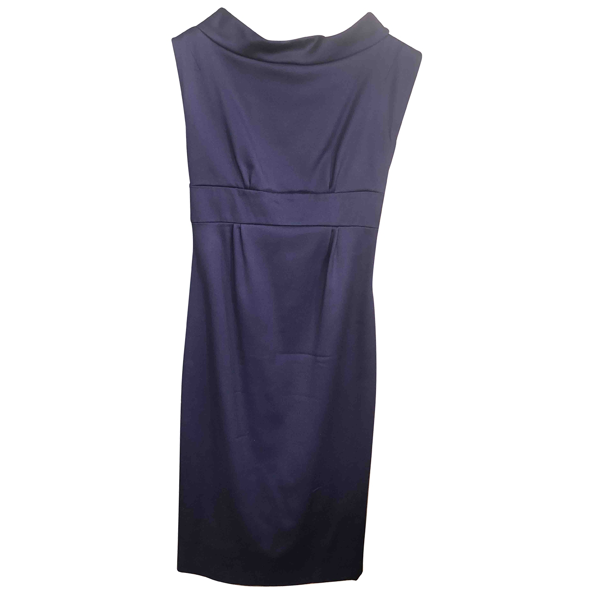 John Galliano \N Purple Wool dress for Women 36 FR