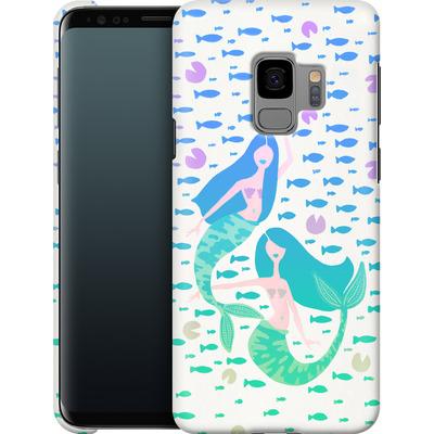 Samsung Galaxy S9 Smartphone Huelle - Mermaids Turquoise von Cat Coquillette