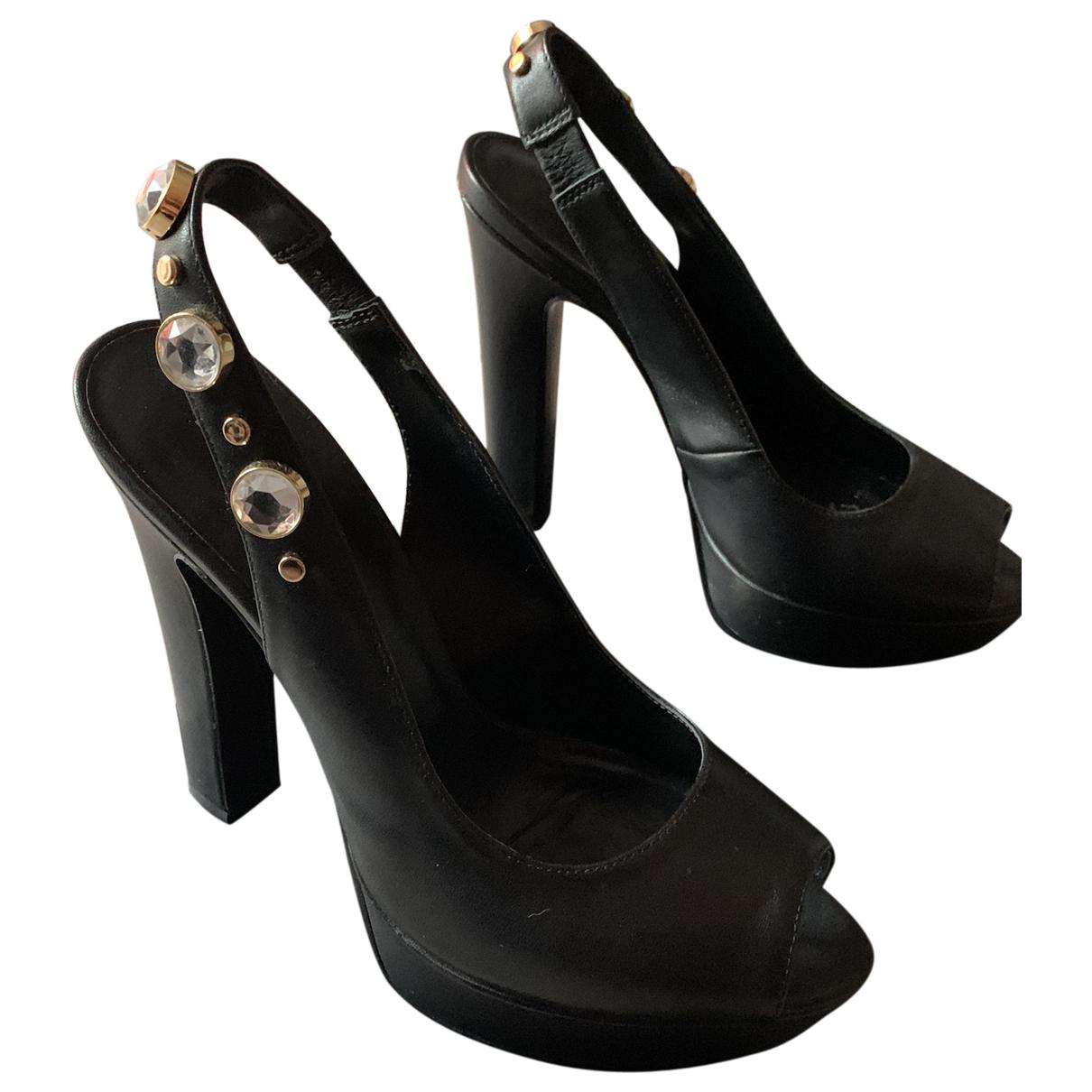 Liu.jo - Escarpins   pour femme en cuir - noir