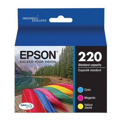 Epson T220520 cartouche d'encre originale couleur combo C/M/Y