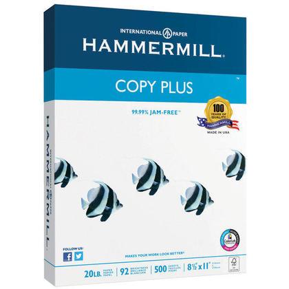 Papier multifonction Hammermill, 20 L, 92 brillant, format légal / tabloïd - 500 / paquet