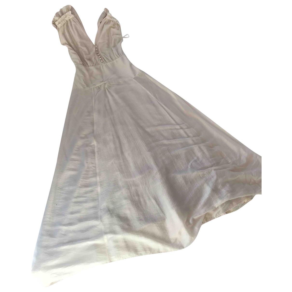 Maxi vestido de Seda Sessun