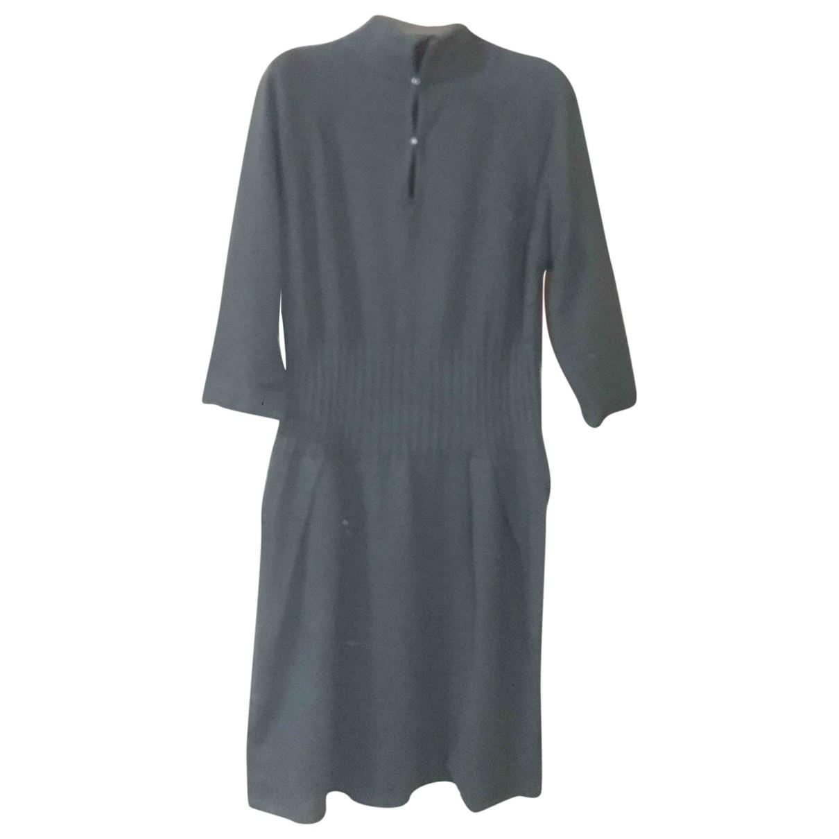 Hoss Intropia \N Kleid in  Schwarz Kaschmir
